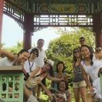 Photo de groupe du voyage d'aout 2012 organisé par RC