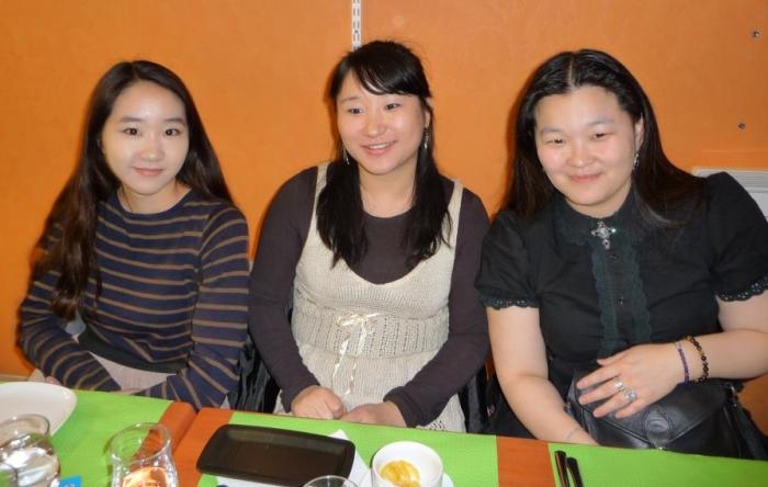 2012.12.15 - Dîner de Raines coréennes à Lyon
