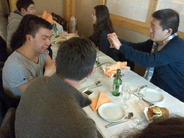 Photo du déjeuner mensuel parisien de Racines coréennes de février 2014 6