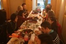 Photo groupe du déjeuner mensuel parisien de Racines coréennes de janvier 2014 1