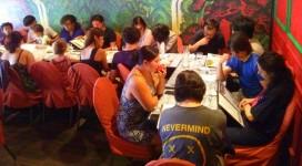 Photo du déjeuner parisien de la mi-été de Racines coréennes juillet 2014 3