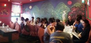 Photo du déjeuner parisien de la mi-été de Racines coréennes juillet 2014 5
