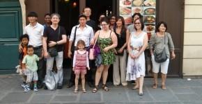 Photo du déjeuner parisien de la mi-été de Racines coréennes juillet 2014 6