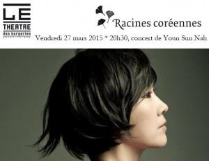 Youn Sun Nah - concert - Racines coreennes