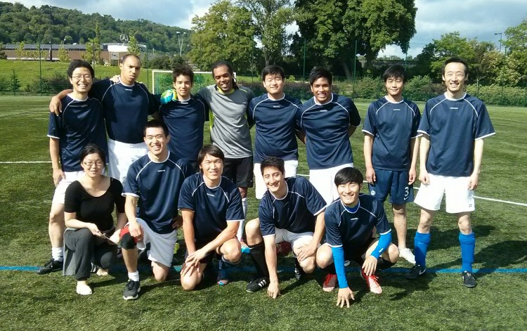 Photo de l'equipe de football RC de 2014