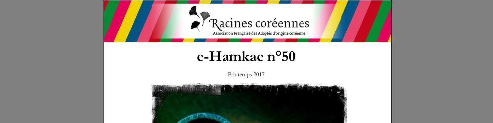 Journal de l'association Racines coréennes : E-hamkae n°50