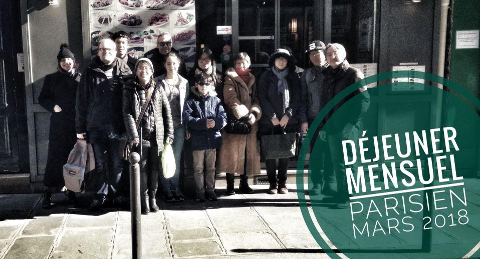 Dejeuner mensuel du 25 mars 2018 de Racines coréennes
