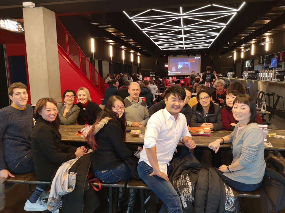Photo déjeuner Racines coréennes à Lyon, le 20 janv 2019 -03
