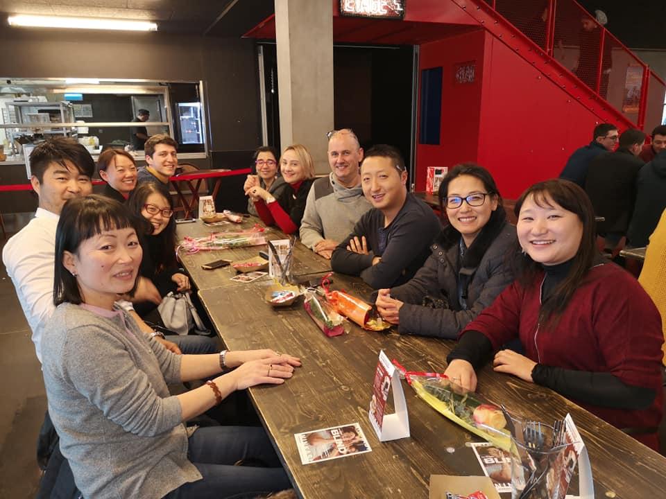Photo déjeuner Racines coréennes à Lyon, le 20 janv 2019 -04