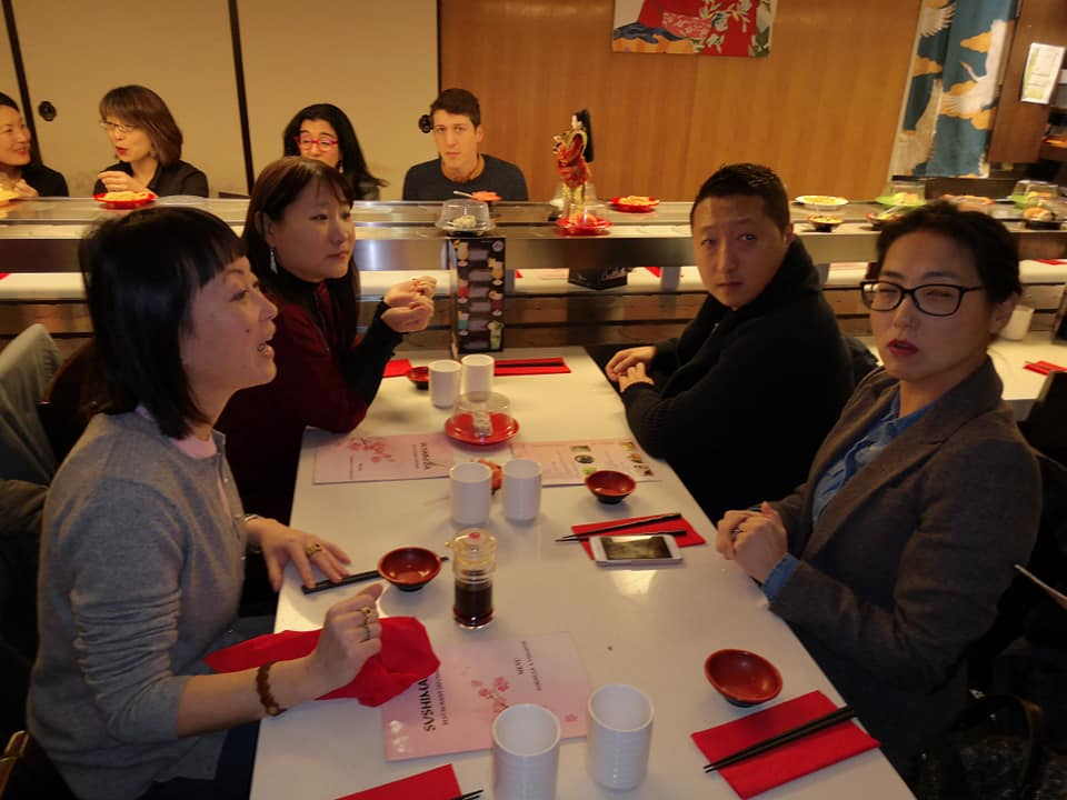 Photo déjeuner Racines coréennes à Lyon, le 20 janv 2019 -05