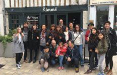 Photo groupe du déjeuner de mai 2019 à Orléans