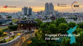 Voyage en Corée du Sud pour l'été 2020