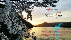 Voyage de printemps 2020 en Corée